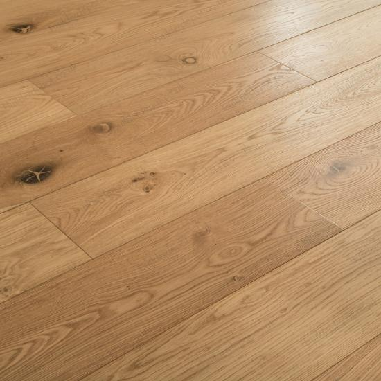 Brushed Natural Multiply Engineered Oak Flooring