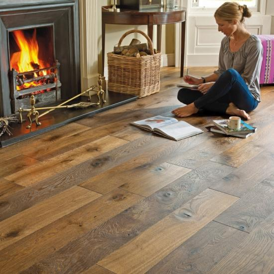 Engineered Oak Flooring 21/6mm Thickness