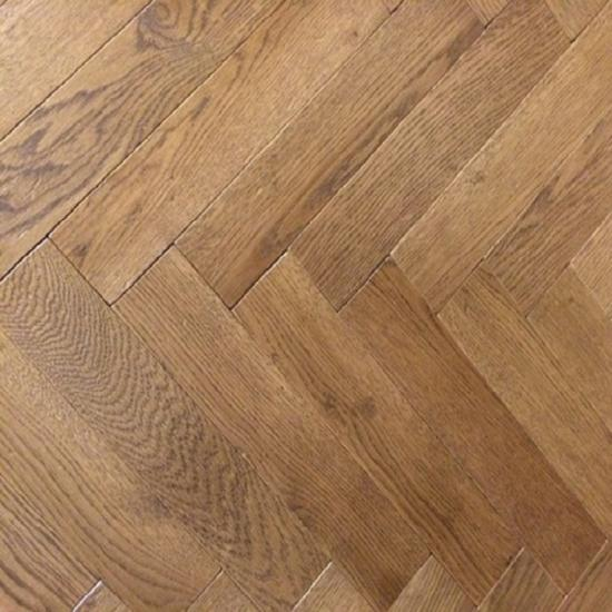 Herringbone Brushed Cuban Multiply Engineered Oak Flooring